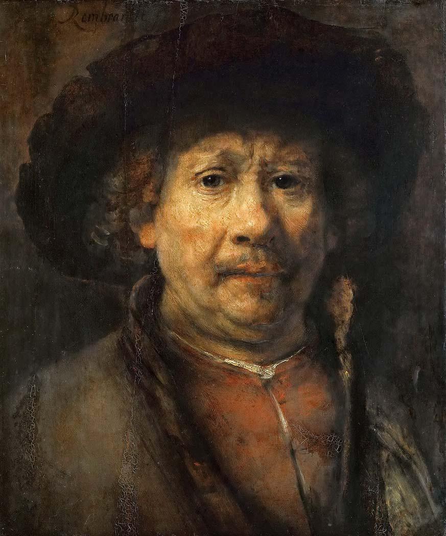 Rembrandt Orta Yaşlılık Portresi