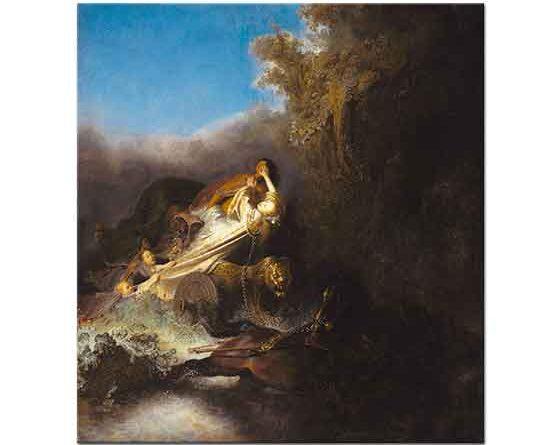 Rembrandt Proserpine'nin Kaçırılması
