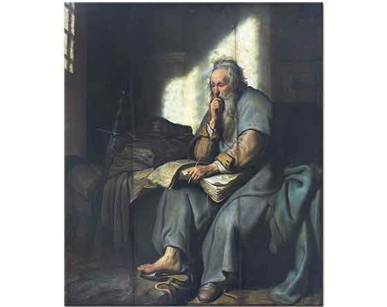 Rembrandt Saint Paul Hapishanede