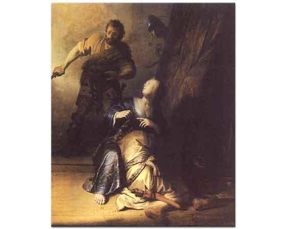 Rembrandt Samson ve Dalila