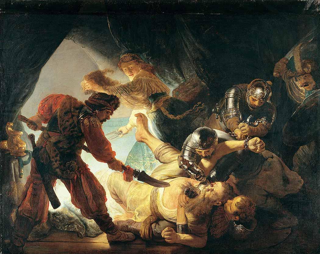 Rembrandt Samson'un Gözlerinin Kör Edilmesi