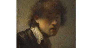Rembrandt Sanatçının Gençlik Resmi