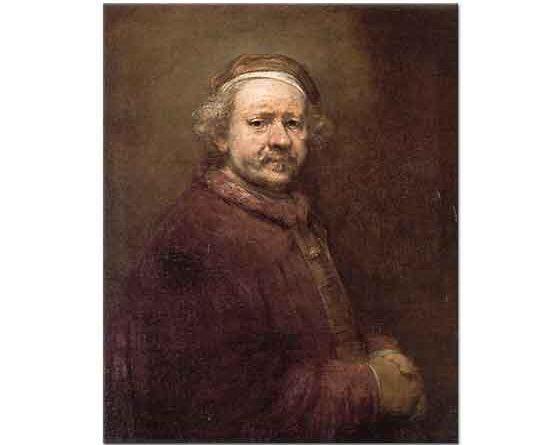 Rembrandt Sanatçının Yaşlılık Portresi