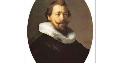 Rembrandt Sivri Sakallı Adam Portresi