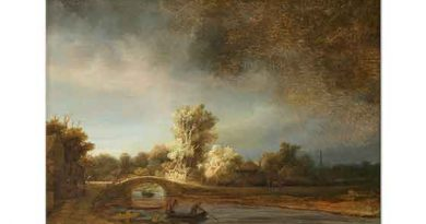Rembrandt Taş Köprülü Manzara