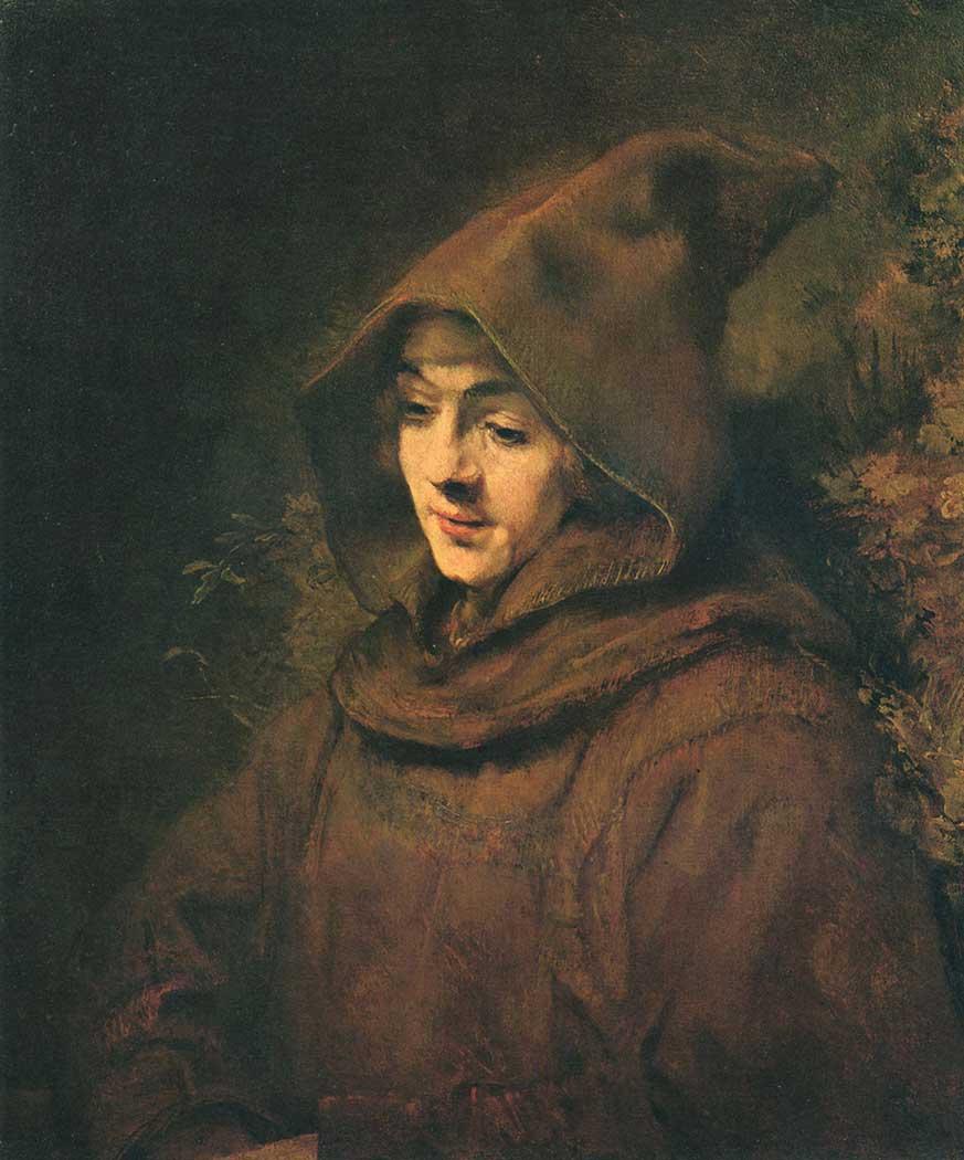 Rembrandt Titus van Rijn Portresi