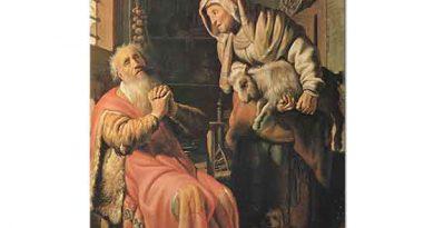 Rembrandt Tobit ve Anna Keçileriyle