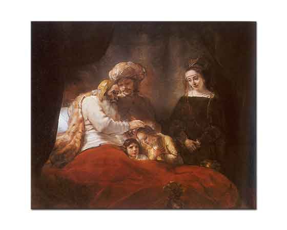 Rembrandt Yakup'un Duası