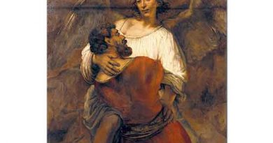 Rembrandt Yakup'un Melekle Savaşı
