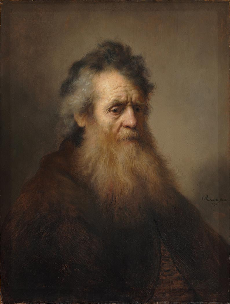 Rembrandt Yaşlı Bir Adamın Portresi