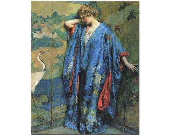 Robert Lewis Reid Mavi ve Sarı