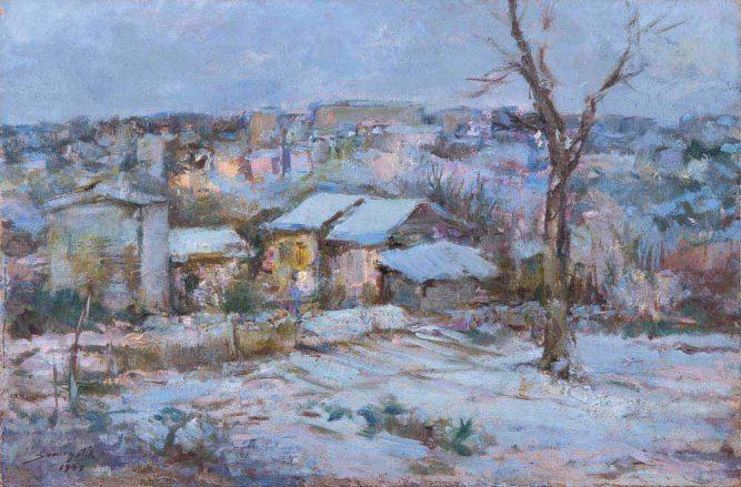 Sami Yetik Çapa'da Kış