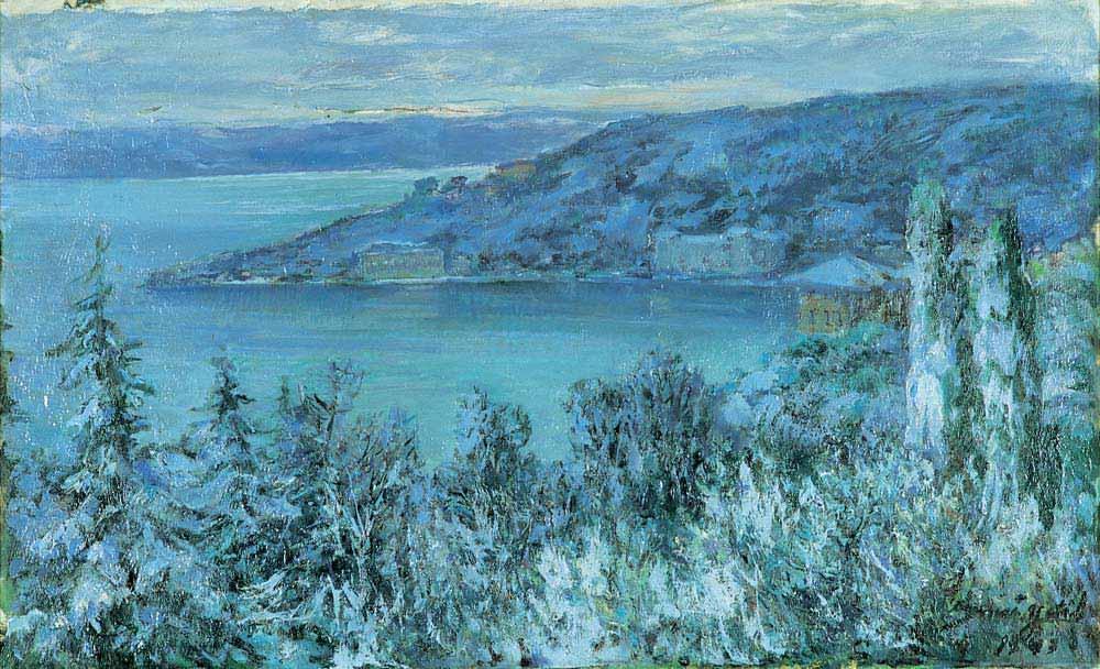 Sami Yetik Kış Manzarası