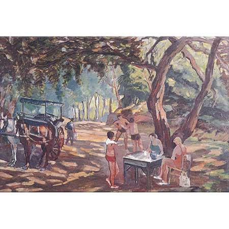 Selahattin Teoman Adada Piknik