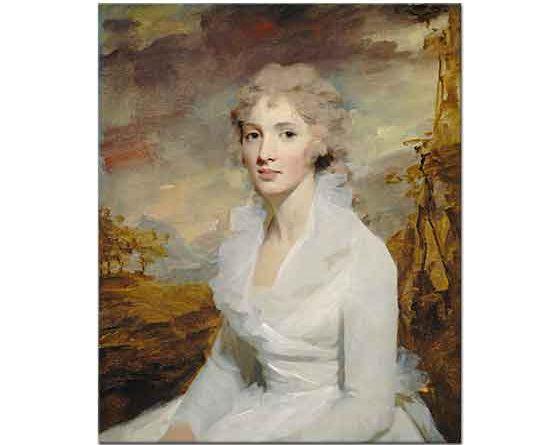 Sir Henry Raeburn Ms Eleanor Urquhart'ın Portresi