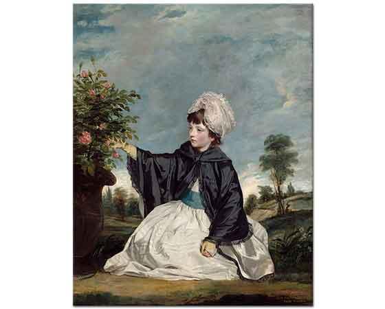 Sir Joshua Reynolds Bahçede Gezinti