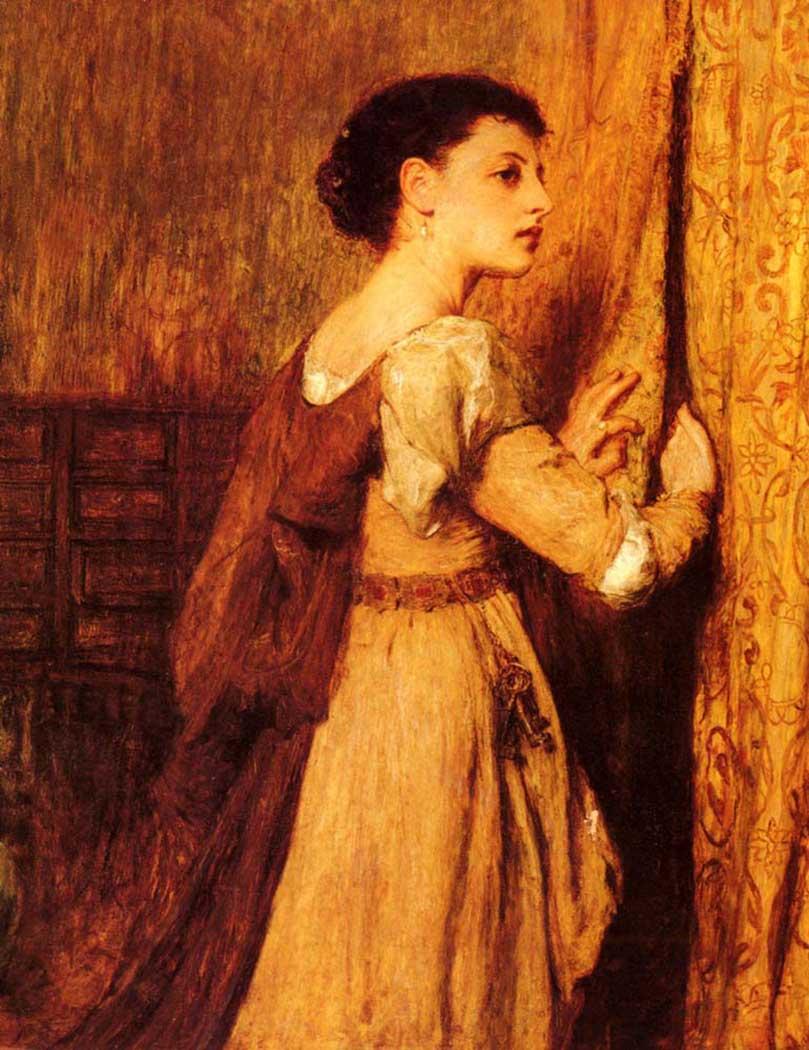 Sir William Quiller Orchardson Kadın Portresi