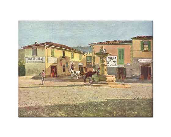 Telemaco Signorini Settignano Meydanı