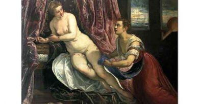 Tintoretto Danae