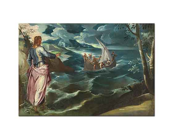 Tintoretto Isa Tiber Kıyısında
