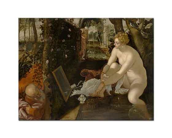 Tintoretto Suzanna ve Yaşlılar