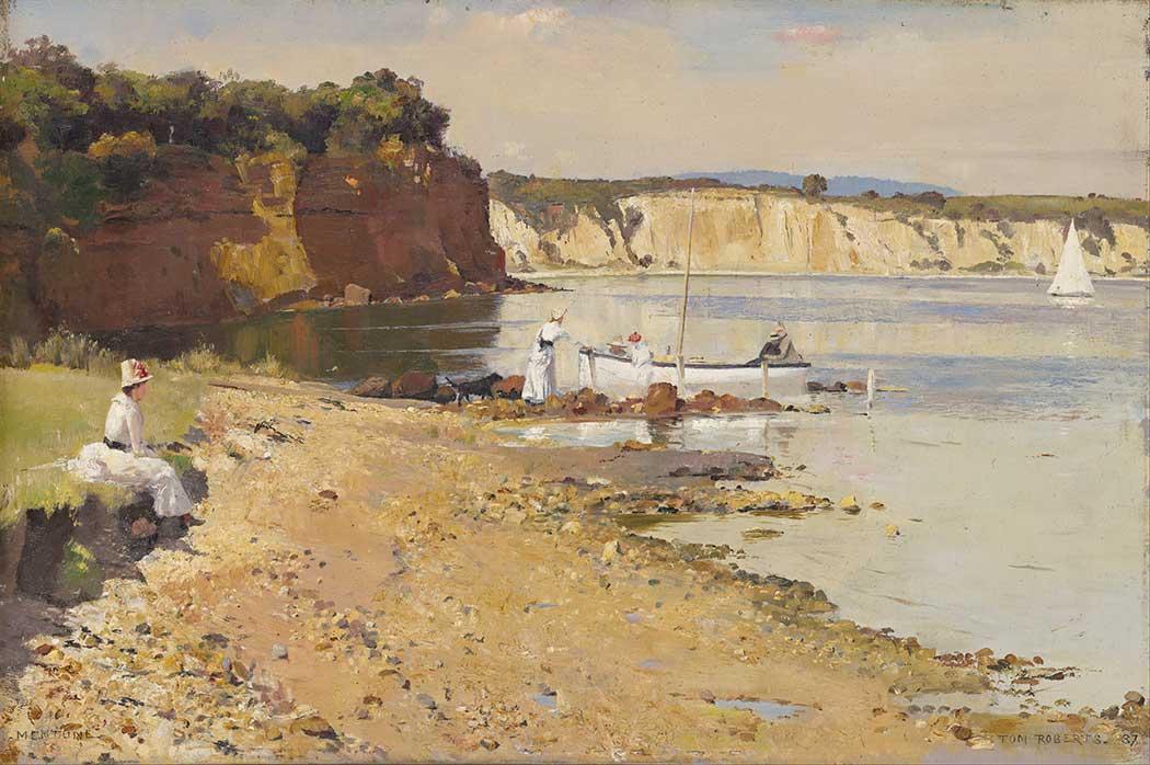 Tom Roberts Slumbering Denizi Mentone
