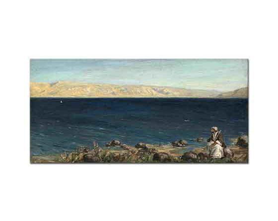 Vasily Polenov Galile Denizi Kenarında bir Hristiyan