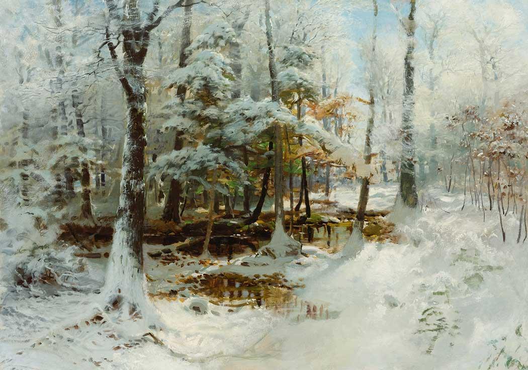 Walter Launt Palmer Kış