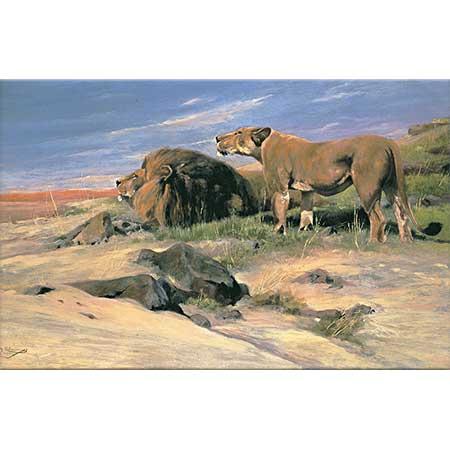 Friedrich Wilhelm Kuhnert Çöl Haydutları