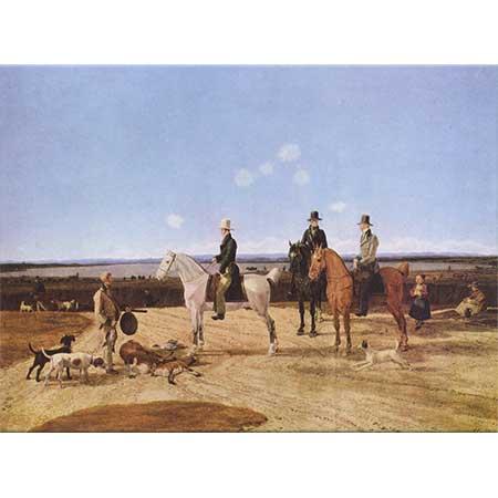 Wilhelm von Kobell Atlı Avcılar