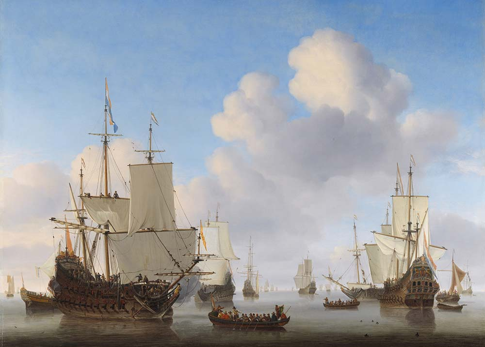 Willem van de Velde Dutch Savaş Gemisi