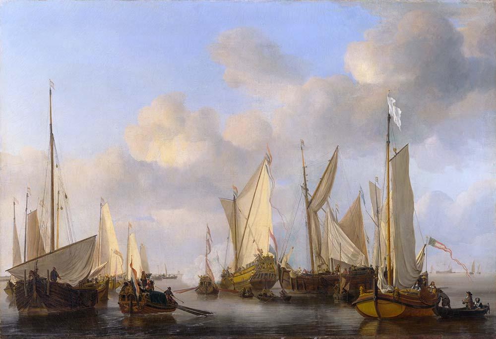 Willem van de Velde Dutch Yatı ve Tekneler