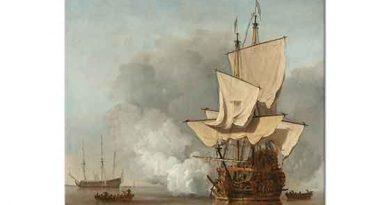 Willem van de Velde Top Atışı