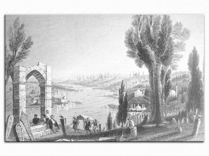 William Henry Bartlett Eyüp Sırtları