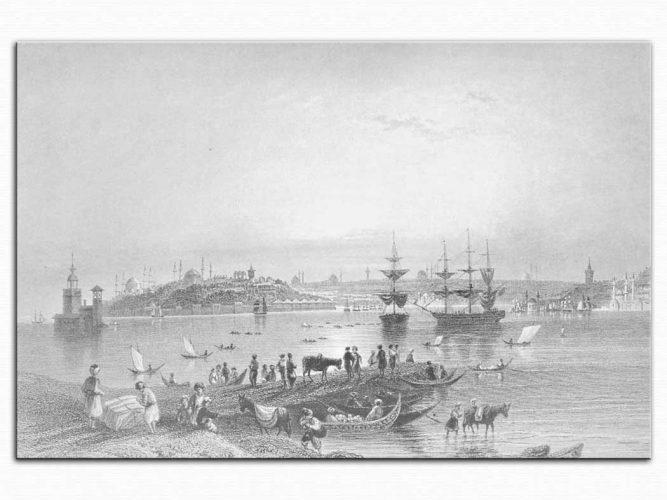 William Henry Bartlett Kadıköy