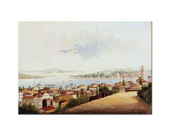 William Oliver Istanbul Manzarası