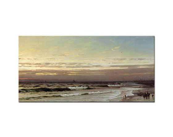 William Trost Richards Atlantik Kıyısı Boyunca