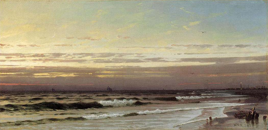 William Trost Richards Atlantik Kıyısı Boyunca