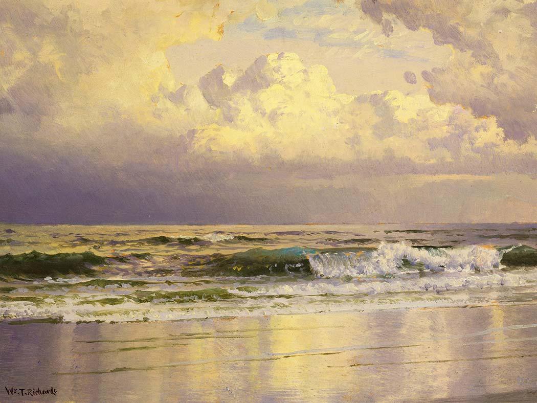 William Trost Richards Deniz Manzarası