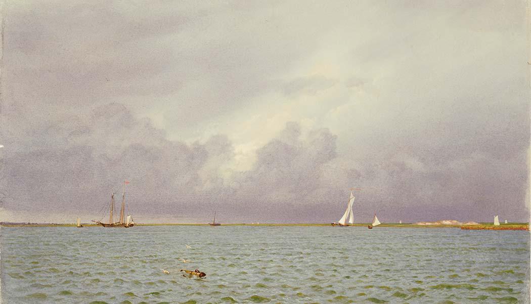 William Trost Richards Gemi ve Yatlar