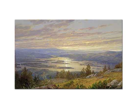 William Trost Richards Red Hill'den Squam Gölü