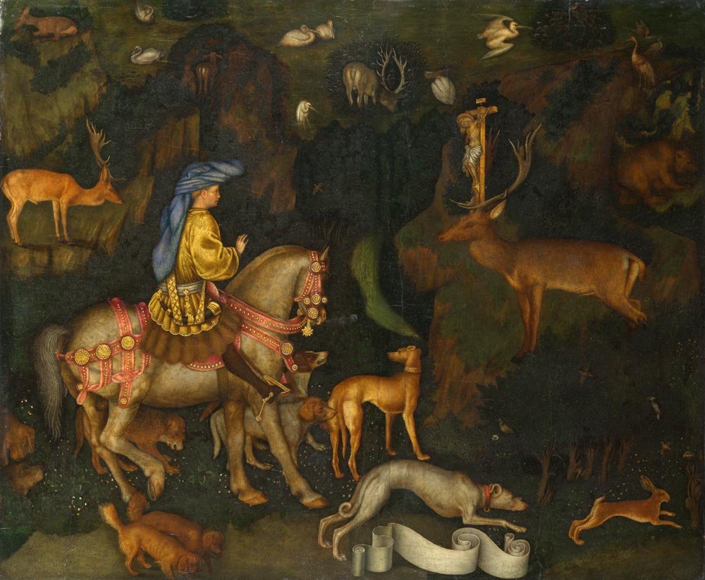 Resim 02, Pisanello, Saint Eustace'nin Gördüğü Hayal, 1438