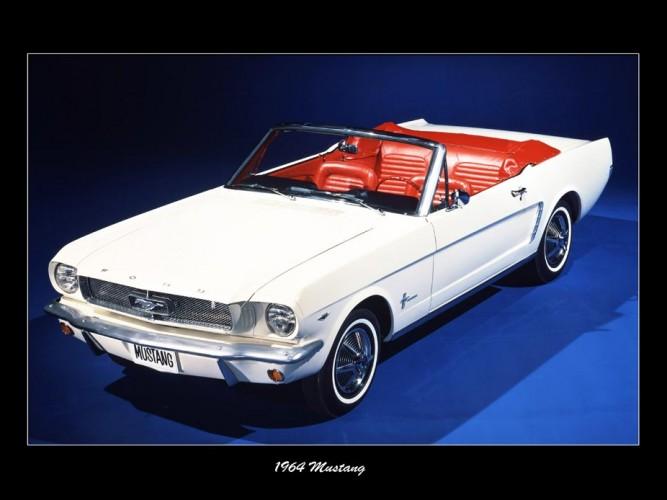 Mustang 1964 Beyaz