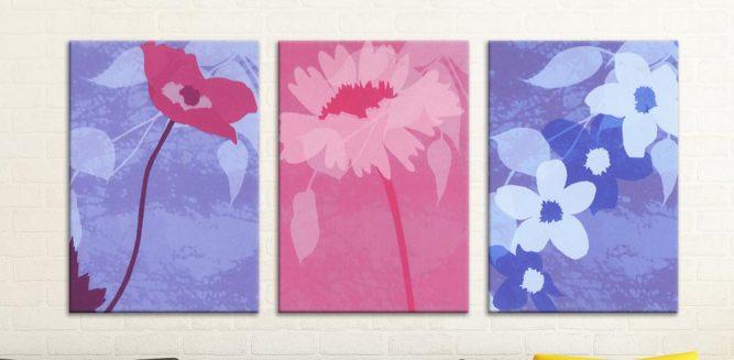 Çiçek Demeti 3 lü Set