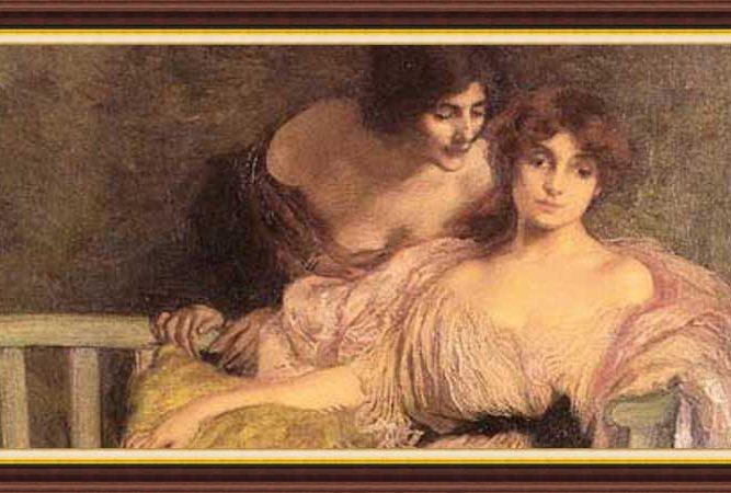 Edmond Francois Aman Jean hayatı ve eserleri