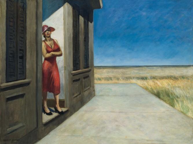 Edward Hopper Güney Carolina Sabahı