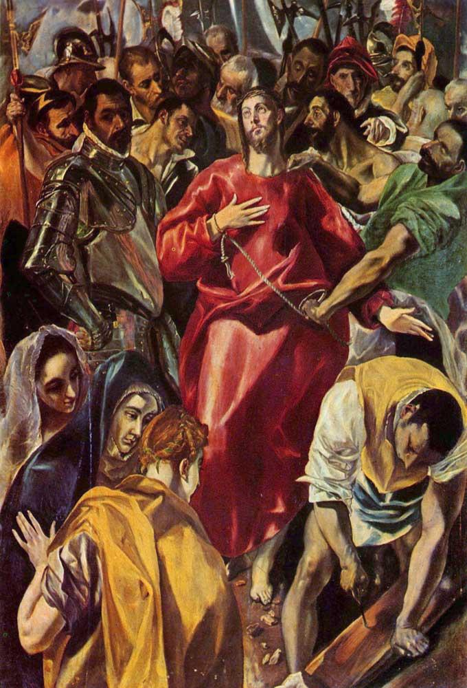 El Greco, İsa'nın Soyundurulması, 1579