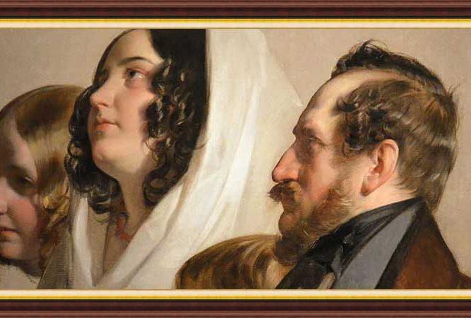 Friedrich von Amerling hayatı ve eserleri