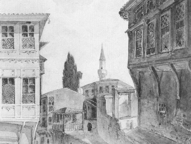 Gaspar Fossati Istanbul Sokağı