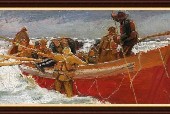 Michael Peter Ancher hayatı ve eserleri
